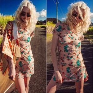 Arnhem Kiki Mini Dress Turquoise EUC